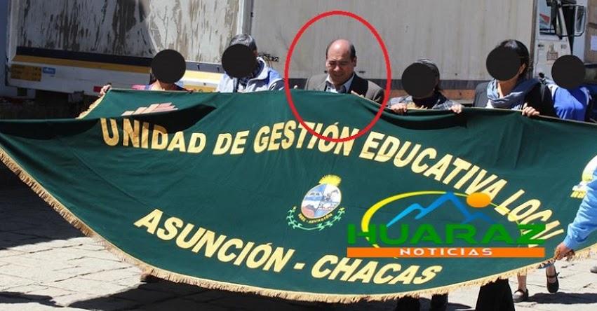Denuncian omisión de pago de beneficios en la UGEL Asunción - Chacas, Áncash
