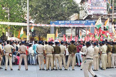 chakkajam protest