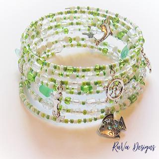 seed beads bracelets ideas handmade diy wire mermaid charm ocean