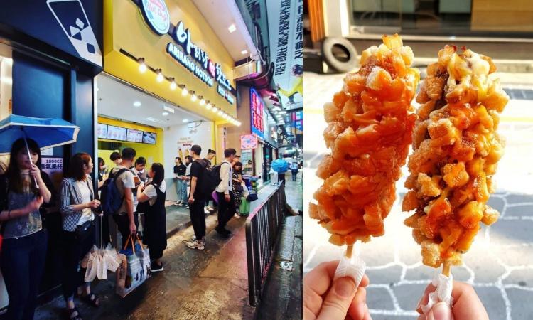 Arirang Hotdog, Street Food Yang Terkenal di Korea Kini Telah Buka di Mong Kok
