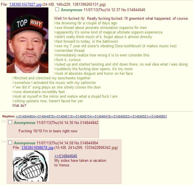 TIFU greentext story