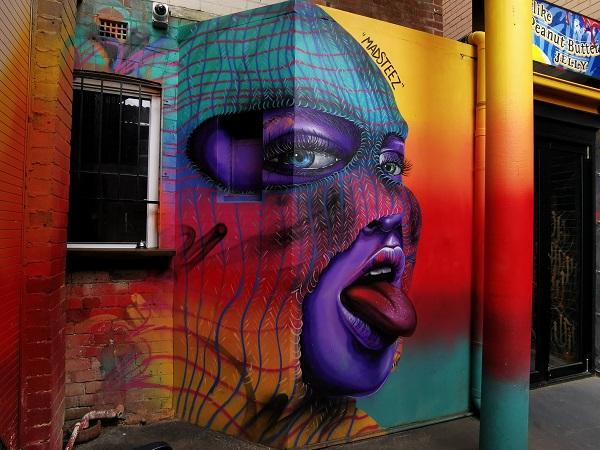Manly Street Art by Madsteez   Sydney Public Art