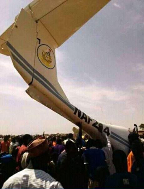 Nigeria Air Force Plane Crashed In Kaduna