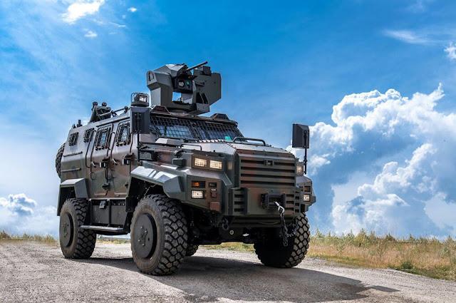 Kendaraan lapis baja Ejder Yalçın milik Nurol Makina, 31 Maret 2017. (Atas kebaikan Nurol Makina)