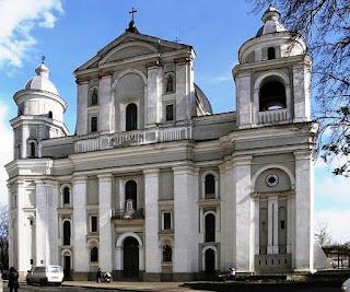 Łuck - katedra św.św. Piotra i Pawła