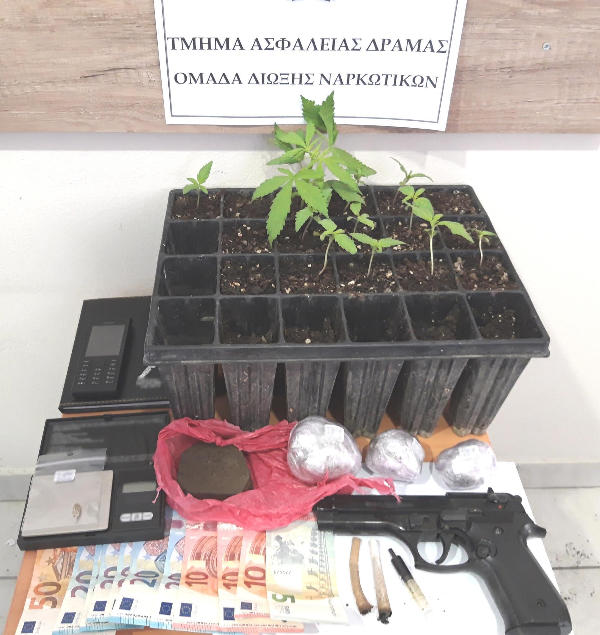 Καλλιεργούσε ναρκωτικά στο σπίτι του