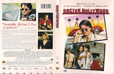 Carátula dvd: Doctor Hollywood (1991)