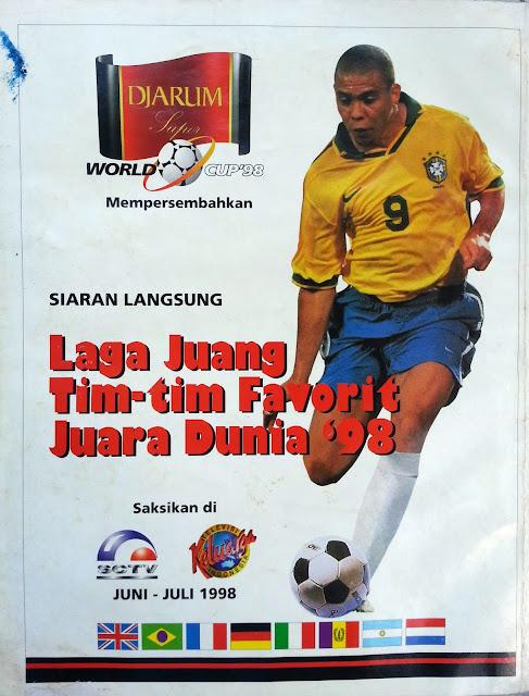 Iklan Siaran Langsung Piala Dunia 1998