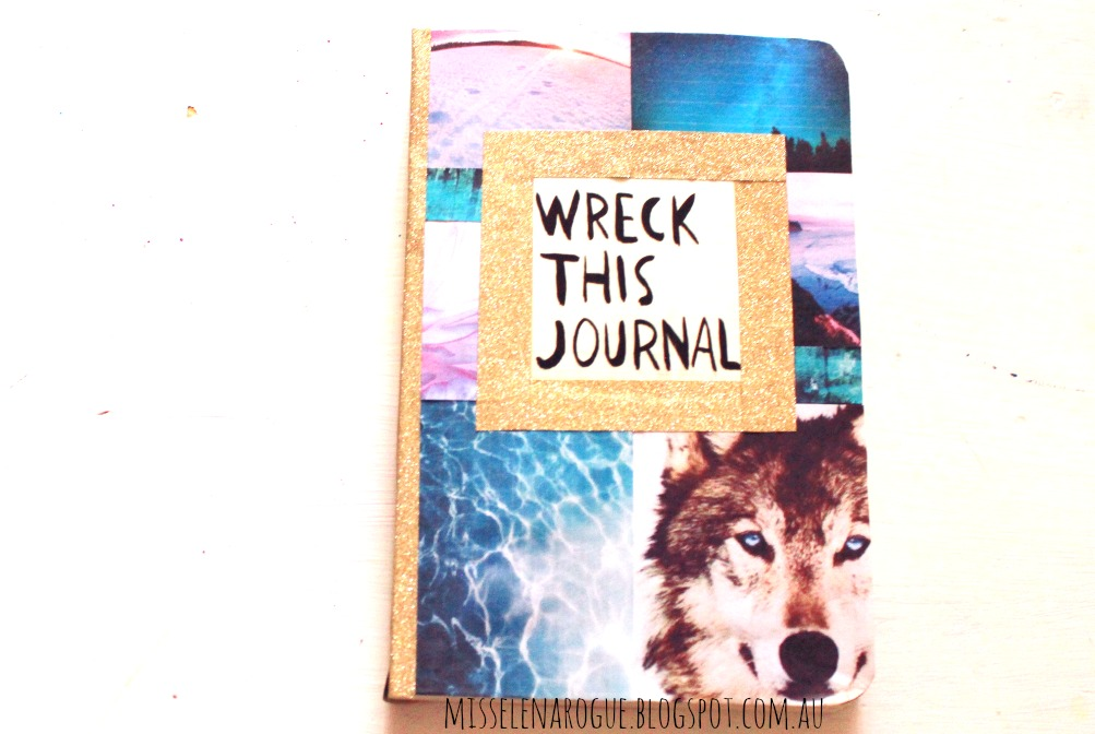 Wreck This Journal Cover Elena Rogue: New Year,...