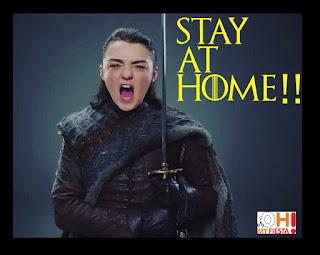Game of Thrones Arya Stark Coronavirus Quotes