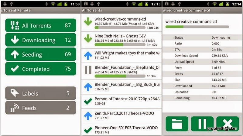 utorrent remote android app