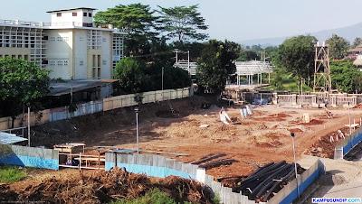 Pembangunan Gedung Gizi Undip