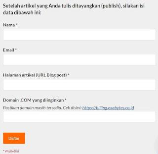 domain com murah dari exabytes