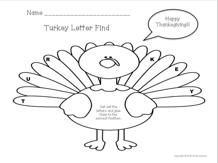 three loopers: turkey letter find...