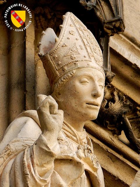 SAINT-NICOLAS-DE-PORT (54) - Statue de Saint-Nicolas (XVIe siècle)