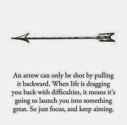 life is like an arrow quote