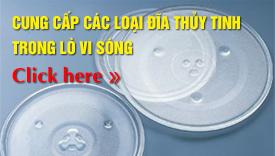 Bán đĩa thủy tinh lò vi sóng Goldsun tại Hà Nội