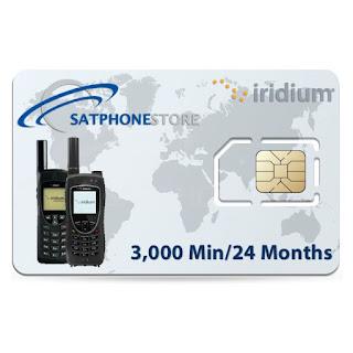 Kartu Perdana Handphone Satelit (Satellite Phone SIM Card)