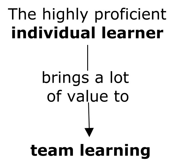 Insight Mapping: From Individual Learning to Team Learning