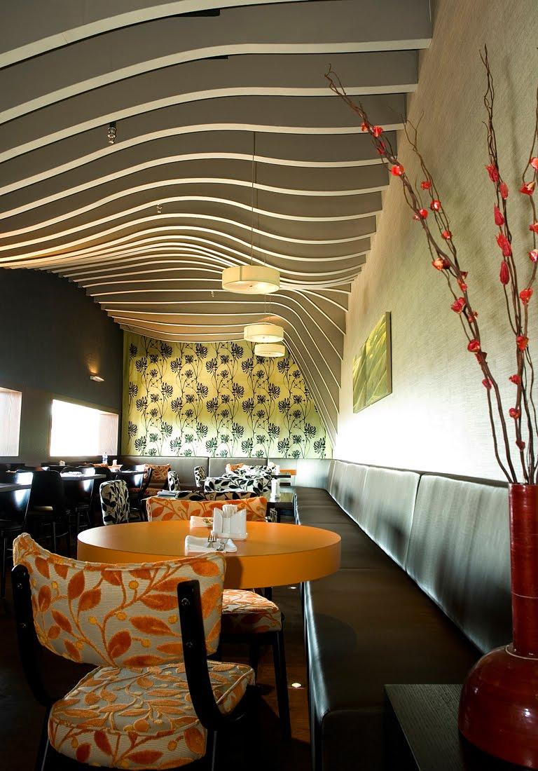 Best Restaurant Interior Design Ideas: Rosso Restaurant