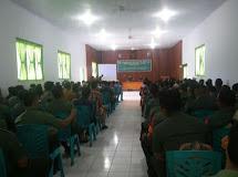 Tingkatkan Sinergitas TNI dan Masyarakat, Kodim 1303/Bolmong Gelar Pembinaan Peta Jarak Jaring Teritorial