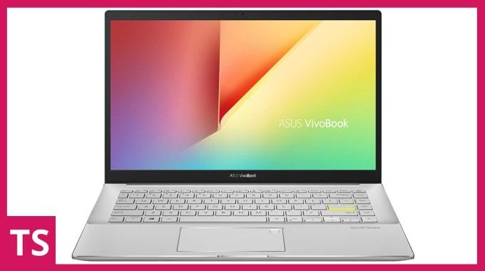 Asus VivoBook S14 S433EA laptop. (Image credit: Asus)