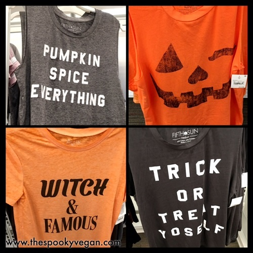 392bca800 The Spooky Vegan: Halloween 2017 Tees at Target