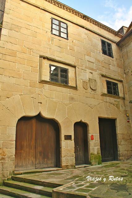 Casa con bellas portadas en Pontevedra