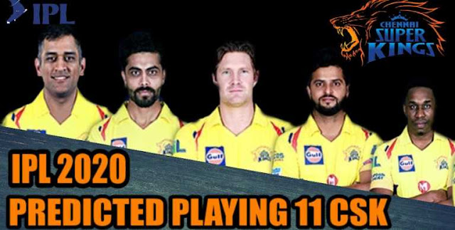 IPL 2020 Predicted Playing 11 for Chennai Super Kings