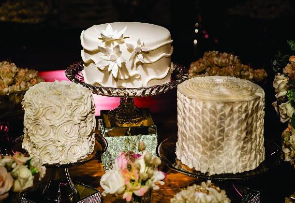 Trio de Bolos: tendência nas festas que agrada os