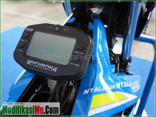 Data Logger Mychron4 - Video Cara Modifikasi All New Suzuki Satria F150 FI Sporty Untuk Balapan Terbaru Sederhana Tapi Keren