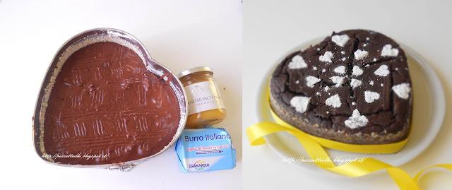Pudding di cioccolato al mandarino