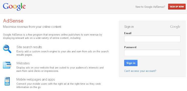 Google Adsense Tutorial How To Create Google Adsense Account