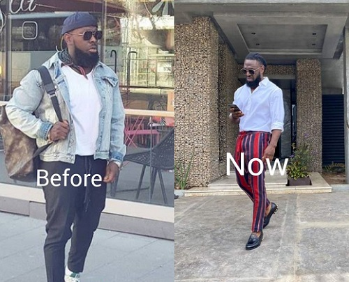 Timaya shares photos of his drastic weight loss