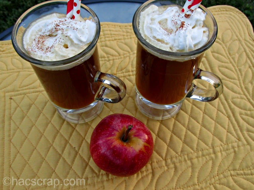 Spiced Apple Cider Cocktails