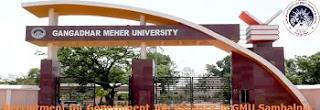 GMU Sambalpur Faculty Vacancy Recruitment 2020