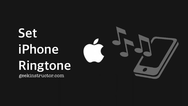 Set iPhone ringtone on your iPhone