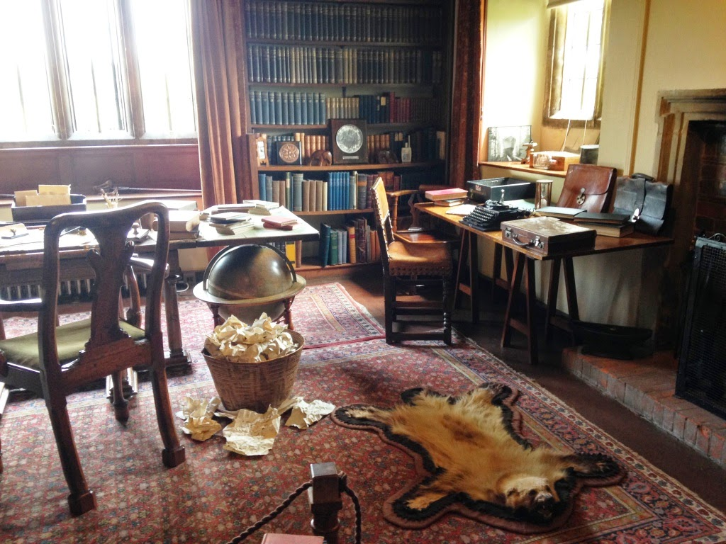 Rudyard Kipling study Bateman's
