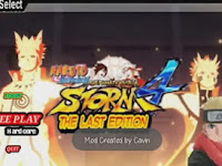 Game Naruto MOD APK Strom 4 The Last Edition v2.0 Unlimited Money