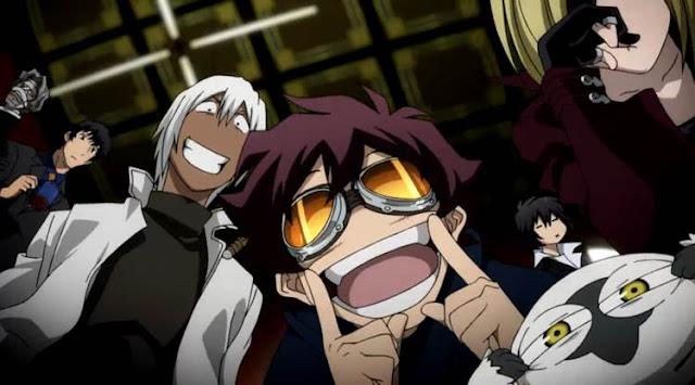 Kekkai Sensen adalah seri aksi-komedi Shounen