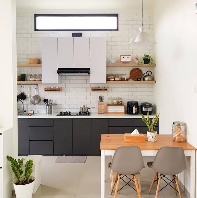 Model Dapur Sederhana Minimalis Modern Terbaru