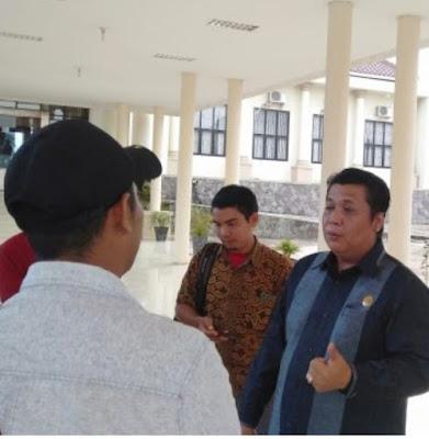 Ketua DPRD OI: Dinas PUPR Lecehkan Institusi Lembaga Negara