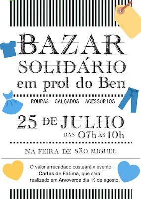 Cartas de Fátima: Amigos realizam Bazar Solidário em prol do evento em Arcoverde