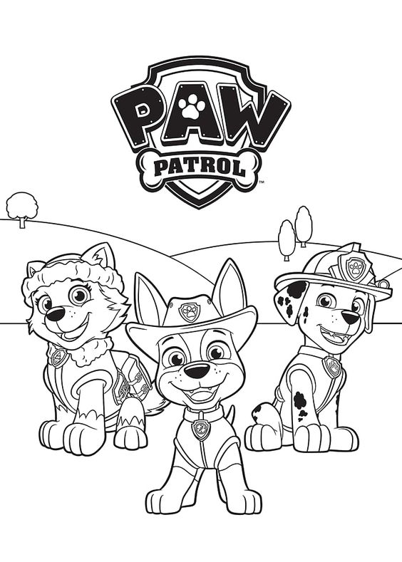 Paw patrol coloring pages 29