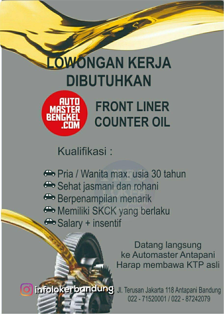 Lowongan Kerja Automaster Bengkel Antapani Bandung Oktober 2018