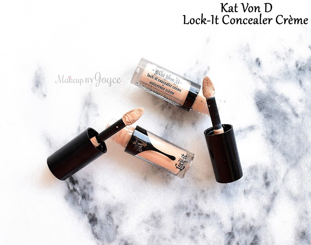 Kat Von D Lock-It Concealer Crème Review Medium 19 Light 11 Swatch