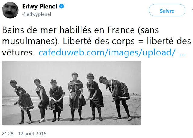 """Edwy Plenel, le """"père la morale"""" du journalisme, groupie de l'intégrisme musulman"""