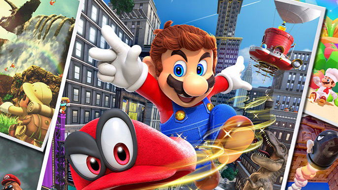 Comprar Super Mario Odyssey Black Friday