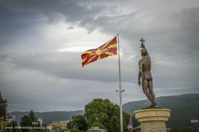 Monument Epiphany Ohrid, Macedonia