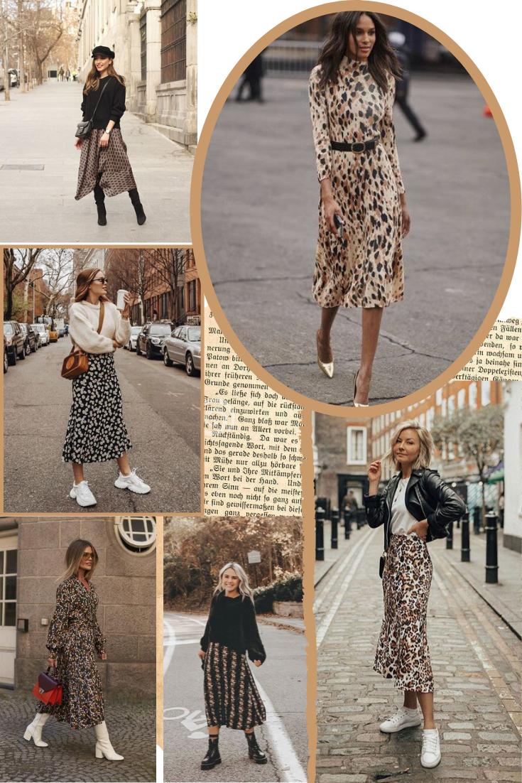 Inspirações de Outfits com Vestidos Midi para Verão e Inverno